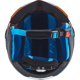 Alpina Carat LE Visor HM Helmet Kids nightblue-denim matt